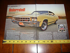 1969 BUICK GS 400 STAGE 1 - ORIGINAL 2014 ARTICLE