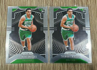 2019-20 Prizm Tremont Waters Prizm Rookie RC #286 Celtics x2 Lot 🔥 📈