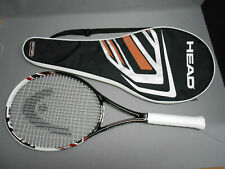 """Head Microgel Heat PWR Midplus 100 Tennis Racquet 4 3/8"""" Grip with Cover"""
