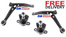VW Sharan 96-10 Two Front Lower Wishbone Suspension Arms with Ball Joints SET