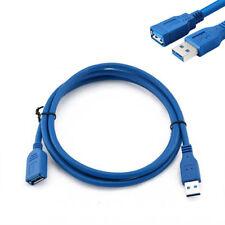 USB 3.0 A FICHE sur Fiche super rapide Rallonge câble Câble de Câble 1.8m