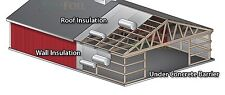 Double Foil Silver Bubble Cell Air Insulation 3sqm Oz Made Keep Items Fresh