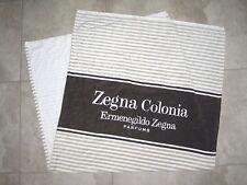 Rare Ermenegildo Zegna Colonia PARFUM Perfume Cologne White Beach Bath Towel
