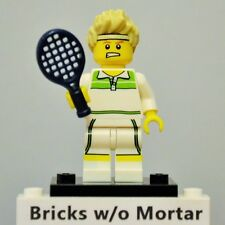 New Genuine LEGO Tennis Ace Minifig with Racket Series 7 8831