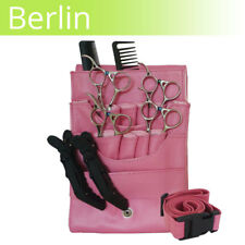 LEATHER scissor pouch BERLIN Pink