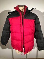Nordic Track Winter Jacket Black Red Size Large