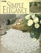 Simple Elegance Patricia Kristoffersen Doily Doilies Patterns Crochet Book 1999
