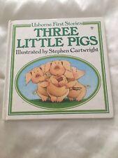 Three Little Pigs (Usbourne First Stories)Hardback Book