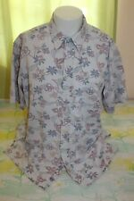Reyn Spooner Men's Hawaiian Floral Shirt Size XL Commemorative Classics