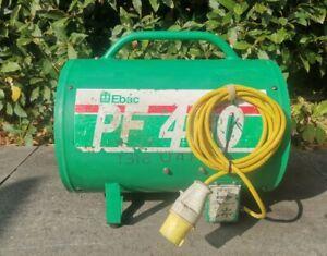 "Ebac PF400 110v Fume Extractor Fan 300mm 12"" Air Ventilator Spray Booth Blower"