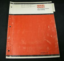 CASE 107 Compact Tractor Parts Manual Book Catalog List OEM Lawn Garden