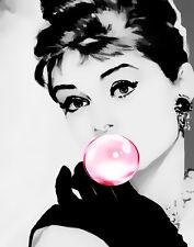 Audrey Hepburn # 137 Pop Art Canvas 16 x 20 #6945