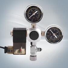 220V Co2 Regulator Magnetic Solenoid 2 Gauge Meter Bubble Counter Valve Aquarium
