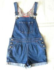 Mini Boden Girls Denim Dungarees Age 9-10