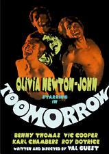 TOOMORROW (1970) Olivia Newton-John's Mega-Rare Debut Film UNCUT/ DVD NTSC NEW