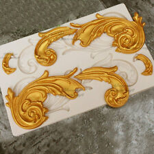 Decor Mould Fondant Silicone Mold for Clay Polymer Resin Decoration Mould #6