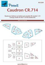 Peewit 1/72 Caudron CR.714 Canopy Masks # 72209