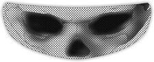 Ghost Skull Skeleton Eyes Helmet Visor Sticker Bike Motorcycle Shield Decal Tint