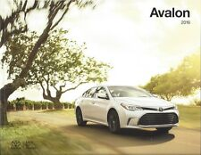 2016 Toyota AVALON & AVALON Hybrid  -  8 Models (see below) 22 Page Brochure
