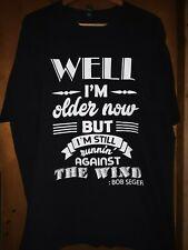 Bob Seger- Against The Wind Lic OOP Black T-Shirt- 3XLarge