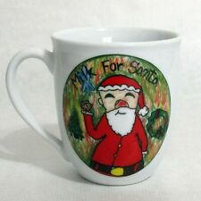 Christmas Village Kids Collection Milk for Santa Coffee Mug Cup by Jessica Smith