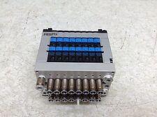 Festo CPV10-GE-DN-8 Solenoid Valve Manifold Block CPV-10-VI 004732 161416 NN02