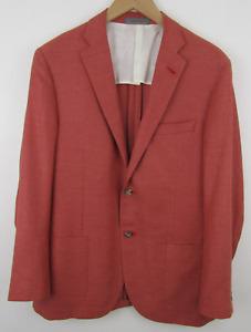 Corneliani Coral SIlk Wool Blazer Sport Coat Jacket 42R