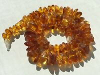 Natural Vintage Amber Beads Antique Baltic Old Necklace 45,14 gr.