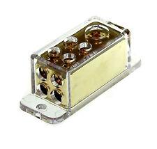 Universal Verteilerblock Stromverteiler Masseverteiler 1x20qmm 4x10qmm