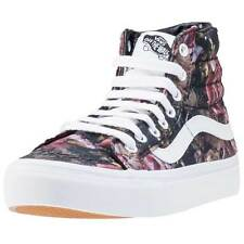 Women's Floral Canvas Athletic Shoes