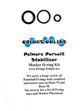 Palmers Pursuit Stabilizer Paintball O-ring Oring Kit x 4 rebuilds / kits