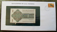 Banknotes of All Nations Suriname Dec. 1984 1 Gulden P116h UNC