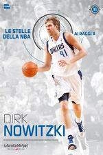 LIBRO BOOK N°11 DIRK NOVITZKI LE STELLE DELLA NBA AI RAGGI X DALLAS