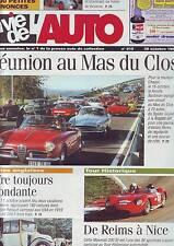 La vie de l´auto 910 - 28 octobre 1999 -de reims a nice - reunion au mas du clos