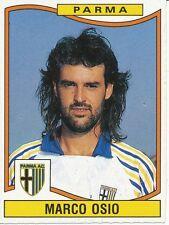 N°259 MARCO OSIO # AC.PARMA STICKER FIGURINE CALCIATORI 1991