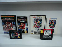 FIFA INTERNATIONAL SOCCER + SUPER HIGH IMPACT Sega Genesis Game LOT COMPLETE BOX