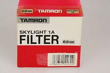 Tamron Skylightfilter 1a, ø62mm IN SCATOLA ORIGINALE
