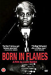 BORN IN FLAMES - A FILM BY LIZZIE BORDEN  - USED DVD MOVIE DISC