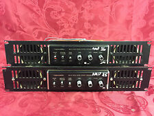 *LOT of 2* Realistic SA-10 rack-mounted stereo amplifiers 31-1982B w/ speakers
