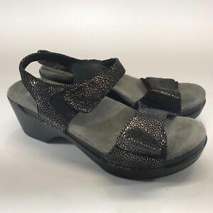 Dansko Women's Open Toe Sandals Leather Adjustable Straps Size 6.5