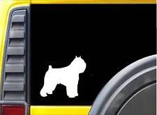 "Bouvier des flandres K760 Dog Decal Sticker 6"" decal"