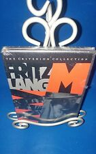 Fritz Lang's M (DVD, Criterion Collection, 1998) film First Printing