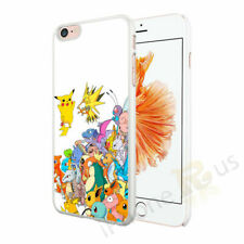 Pokemon Collage Hard Case Cover For Various Mobile Phones iPhone Samsung OD82-13