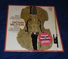 """Nathan Milstein """"Bach, Vivaldi, Violin Concertos"""" Angel AL-32073 Stereo LP EC/EC"""