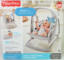 Fisher-Price - Deluxe Take-Along Swing & Seat