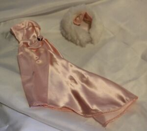 Enchanted Evening Reproduction Outfit Barbie Clothes Dress Gown & Stole Repro