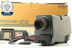 【TOP MINT】 PRO CABIN 67-Z Slide Projector + MC-23B Cap From Japan 1459