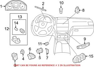 Genuine OEM Ignition Switch for Mercedes 2079057201
