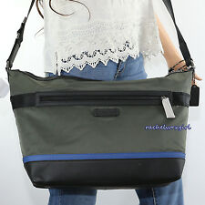 NWT Coach Men's Nylon Crossbody Messenger Business Bag F71143 Olive Green NEW