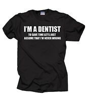 Dentist T-Shirt Gift For Dentist Profession DDS Tee Shirt